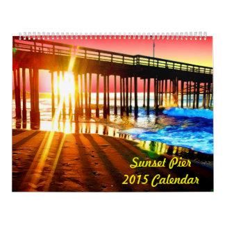 日没桟橋 カレンダー
