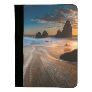 日没|の北カリフォルニアの海岸線 パッドフォリオ