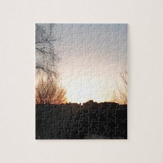 日没 ジグソーパズル