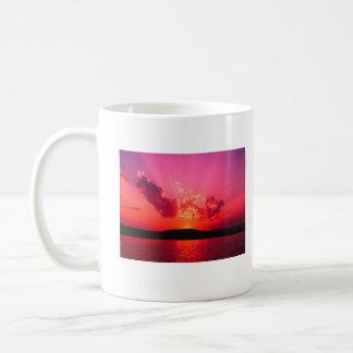 日没、    テリーのコーヒーカップ コーヒーマグカップ