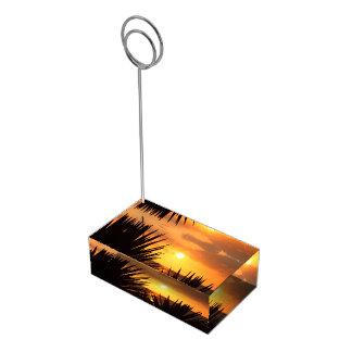日没 テーブルカードホルダー