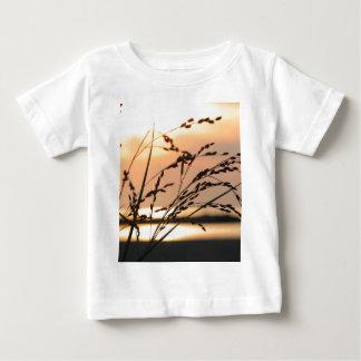 日没 ベビーTシャツ