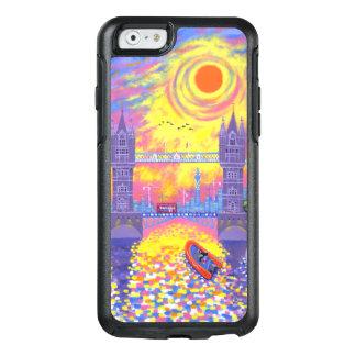 日没: ロンドン2013年のプール オッターボックスiPhone 6/6Sケース