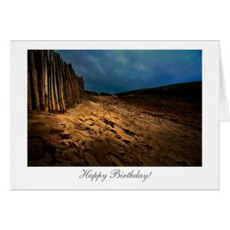 日没-幸せなBiirthdayの海岸出口 カード