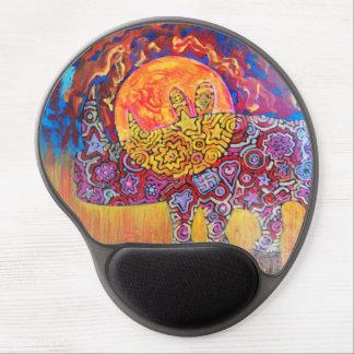 日没-魔法のマウスパッドの魔法のrhyno ジェルマウスパッド
