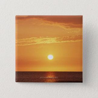 日没 5.1CM 正方形バッジ