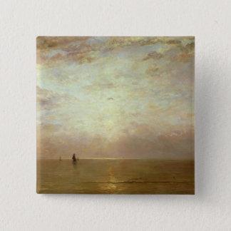日没、c.1887 缶バッジ