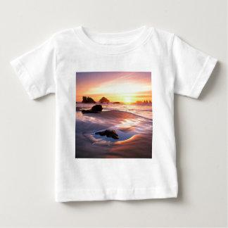 日没Bandonオレゴン ベビーTシャツ