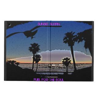 日没Surfin -精神のための燃料 iPad Airケース