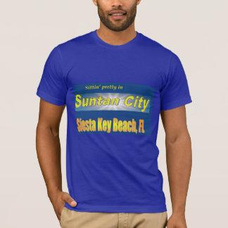 日焼け都市昼寝 Tシャツ