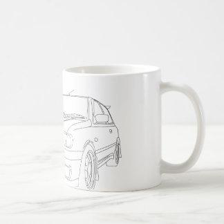 日産のパルサーGTiR コーヒーマグカップ