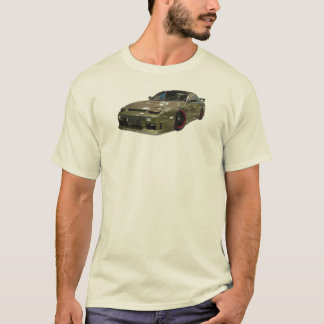 日産180sxの漂流のTシャツ Tシャツ