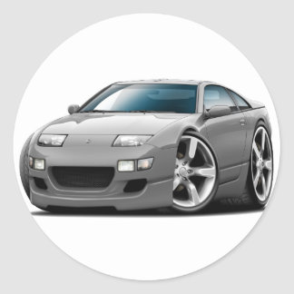 日産300ZXの灰色車 ラウンドシール