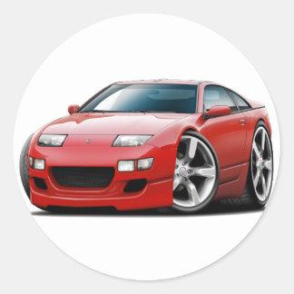 日産300ZXの赤車 ラウンドシール