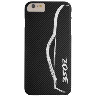 日産350Zの白いシルエットのロゴ BARELY THERE iPhone 6 PLUS ケース