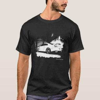 日産・スカイラインGTRの背面図 Tシャツ