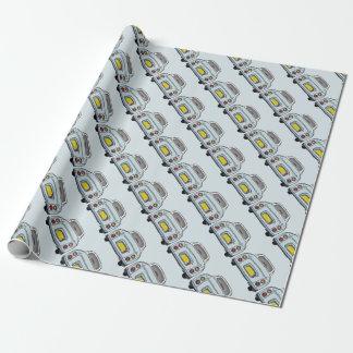 日産・フィガロの包装紙の淡い色のな水 ラッピングペーパー