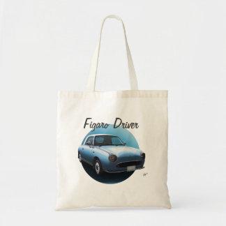 日産・フィガロの運転者の淡い色のな水車のカスタムなトートバック トートバッグ