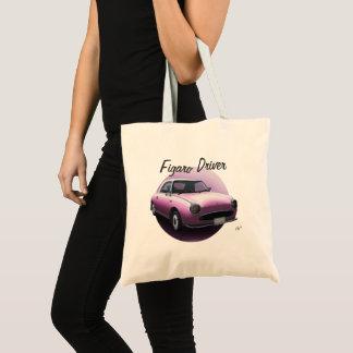 日産・フィガロの運転者特別なピンク車のトートバック トートバッグ