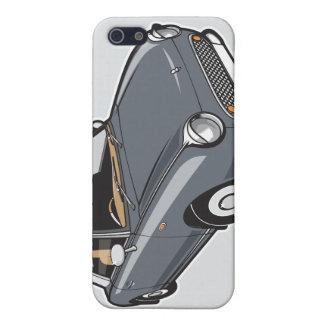 日産・フィガロLapizの灰色 iPhone 5 カバー