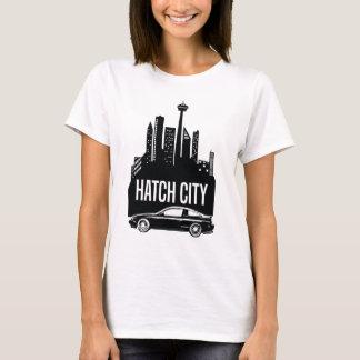 日産S13 240SXのハッチ都市 Tシャツ