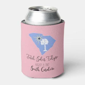 日食のサウスカロライナの総ピンクのクーラーボックス 缶クーラー