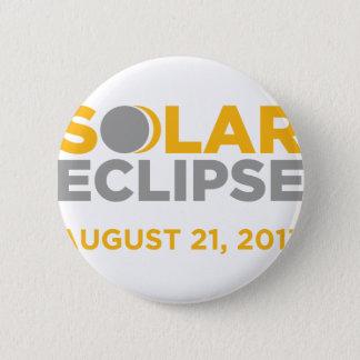 日食威厳があるな21 2017年 5.7CM 丸型バッジ