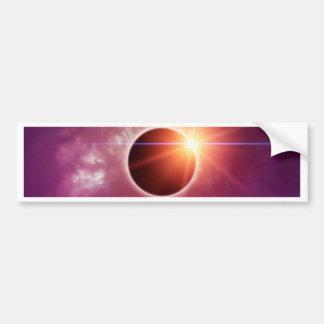 日食 バンパーステッカー