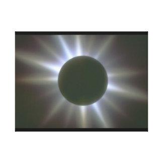 日食。 (食; light_Space場面 キャンバスプリント