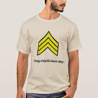 日1の下士官のt-shrit以来愚かな固定 tシャツ