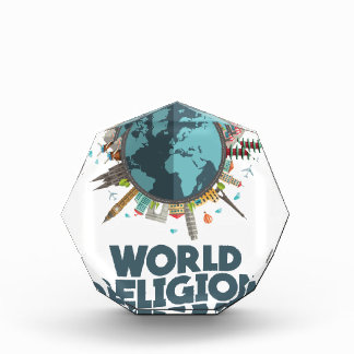 日1月18日-世界の宗教 表彰盾