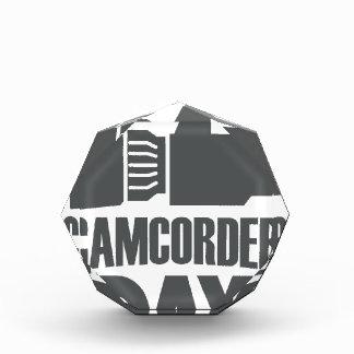 日1月20日-カムコーダー 表彰盾