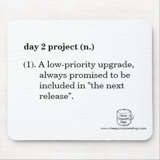 """""""日2プロジェクト""""の定義マウスパッド マウスパッド"""
