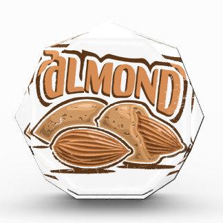 日2月16日-アーモンド-感謝日 表彰盾
