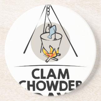 日2月25日-クラムチャウダー コースター