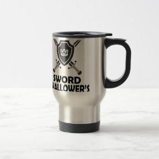 日2月25日-世界の剣のSwallowerの トラベルマグ