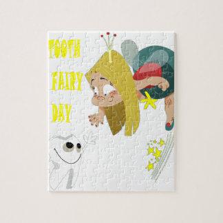 日2月28日-歯の妖精-感謝日 ジグソーパズル