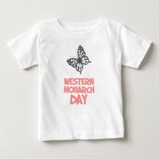 日2月5日-西部の(昆虫)オオカバマダラ、モナーク ベビーTシャツ
