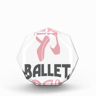 日2月7日-バレエ-感謝日 表彰盾