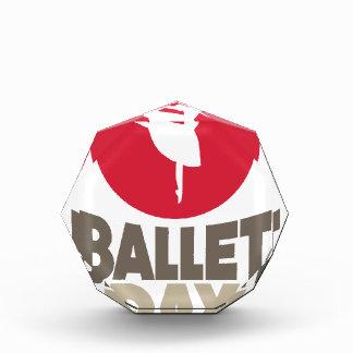 日2月7日-バレエ 表彰盾