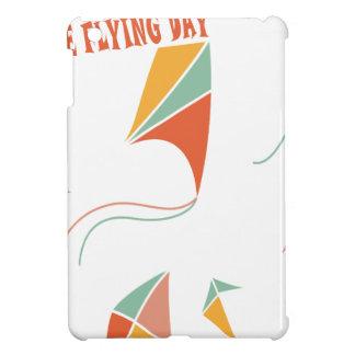 日2月8日-凧の飛んでいるな-感謝日 iPad MINIケース
