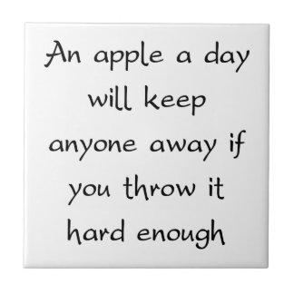 日Appleは皆を遠くに保ちます タイル
