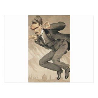 日No.4のジェームスTissot著衆愚政治の人 ポストカード