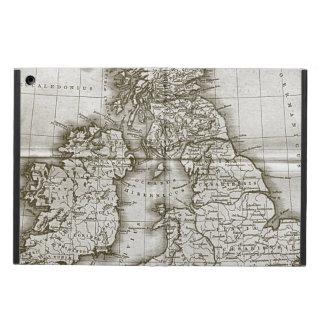 旧世界のアンティークの地図 iPad AIRケース