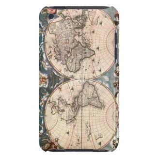 旧世界の地図のipod touchのクールなケース Case-Mate iPod touch ケース