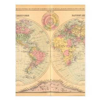 旧世界の地図2 ポストカード