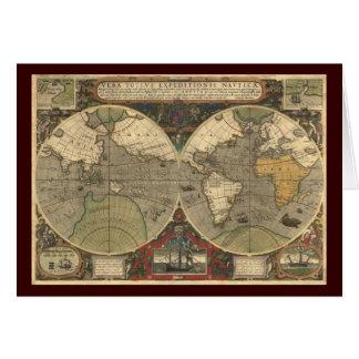 旧世界の地図 カード