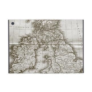 旧世界の旧式な地図のiPad Mini Powisの場合 iPad Mini ケース
