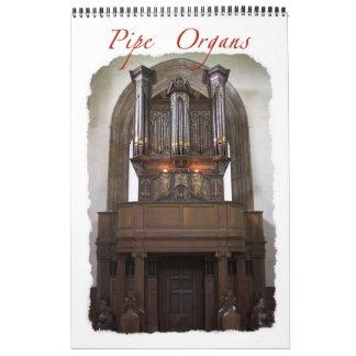 旧世界の管器官のカレンダー カレンダー