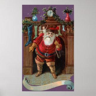 旧世界サンタ ポスター